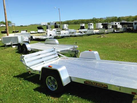 Utility trailer from Bil-Bar Equipment near Milwaukee